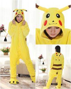 Kigurumi Retail Outlet Pikachu Pajamas Animal Costume Kigurumi