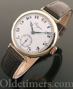 1920s 9ct rose gold round vintage Longines watch (3618)