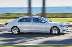 2016 Mercedes-Benz Maybach S600 Sedan Exterior