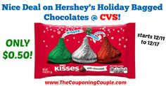 AWESOME PRICE!!! Great for stockings!! Nice Deal on Hershey's Holiday Bagged Chocolates @ CVS ~ Starts 12/11!  Click the link below to get all of the details ► http://www.thecouponingcouple.com/nice-deal-on-hersheys-holiday-bagged-chocolates-cvs/ #Coupons #Couponing #CouponCommunity  Visit us at http://www.thecouponingcouple.com for more great posts!