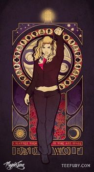 Art Nouveau Rose Tyler