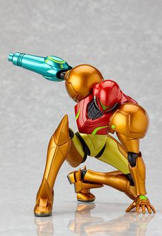 Figma Samus Aran from Metroid Other M, by Max Factory.