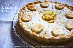 Titanic 1912 Dessert Lemon Tart Recipe