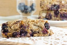 Blueberry Buckwheat Granola Bars  I have lots of food allergies so I'm always looking for non wheat, non soy, non egg foods.