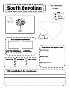 research format for elementary students free printable templates 3rd Grade Social Studies, Teaching Social Studies, Teaching Tools, Teaching Kids, Kids Learning, States And Capitals, Research Skills, Thinking Day, Home Schooling