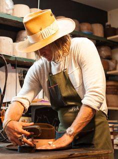 La premiere boutique de la marque de chapeaux Nick Fouquet a Venice Beach 18