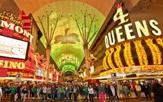 Fremont Street Experience Top 10 things to do in Las Vegas