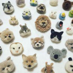 My Owl Barn: Japanese Artist Makes Most Adorable Pompom Animals
