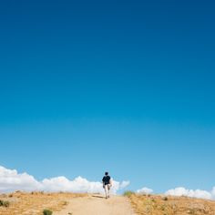 "Day 717 [6-6-15] ""Walking Among Clouds"" - Day 1 of our trip had our minds floating away, walking up the Overlook Hill in the Carrizo Plain National Monument, CA. (weekly theme: ""Recess"" 