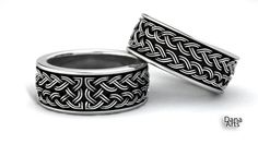 IBC-21-a   Celtic knot band by DanaArts  Simple, but beautiful
