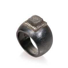 Todd Reed Jewelry, Mens Alternative, Wedding Band, Alternative Bridal, Raw Elegance, Raw Diamond, Patina, Mens Designer Ring, Groom, Recycled Metal, Mens Jewelry, One-of-a-kind