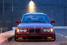 E36 Cabrio, Bmw Red, E36 Coupe, Bmw M Series, Bavarian Motor Works, Bmw Classic Cars, Bmw Love, Bmw Cars, Motor Car
