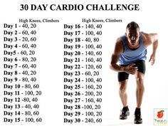 Men's Fitness: 30 Day Cardio Challenge - http://www.amazingfitnesstips.com/mens-fitness-30-day-cardio-challenge