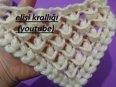 Her Gönülde Bir Aslan Şal Modeli Crochet Cowel, Crochet Doily Rug, Stitch Crochet, Crochet Baby, Free Crochet, Learn Crochet, Quick Crochet, Knitting Stitches, Knitting Patterns