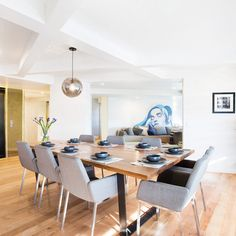 The Block Octagon: Dining and foyer room reveals