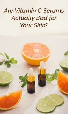 Are Vitamin C Serums Actually Bad for Your Skin? Best Anti Aging, Anti Aging Skin Care, Organic Skin Care, Natural Skin Care, Natural Aloe Vera, Vitamin C Serum, Skin Care Spa, Your Skin, Vitamins