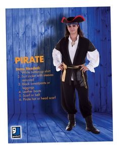 The Pirate is a Halloween staple! Wait to see what we add to it on the Everyday show on October 14th! #GoodwillHalloween