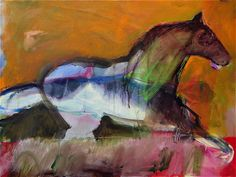 Ghost Horse   30 x 40 Lance Green I love this artist!