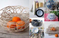 Creative Ideas - DIY Stunning String Bowl | iCreativeIdeas.com Follow Us on Facebook --> https://www.facebook.com/iCreativeIdeas