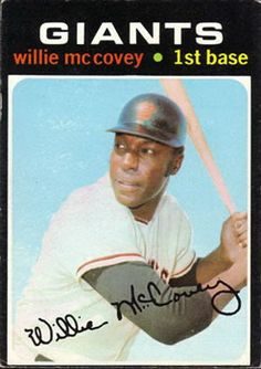 50 - Willie McCovey - San Francisco Giants