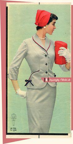 Beswingtes Allerlei - Swing, Mode der 40er und 50er Jahre und Leidenschaft!: Die Mode liebt rote Akzente! (Patsy Shally)