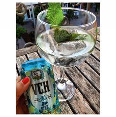 Añádele unas hojitas de menta fresca al nuevo VCH Plus Menta y disfrútalo (foto de @MissPinot)