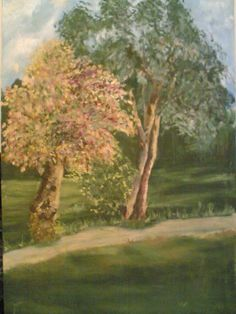 landscape - Painting by Maira Qureshi in My Paintings at touchtalent 41921