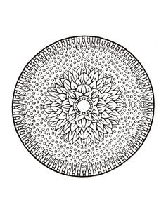 1000 Images About Coloring Mandalas On Pinterest