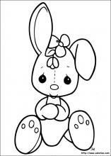 Precious Moments coloring picture Make your world more colorful with free printable coloring pages from italks. Our free coloring pages for adults and kids. Bunny Coloring Pages, Easter Colouring, Coloring Pages For Girls, Free Printable Coloring Pages, Colouring Pages, Free Coloring, Coloring Books, La Petite Taupe, Precious Moments Coloring Pages