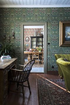 Home Decor Recibidor Home Interior Design, Interior Decorating, Design Retro, Sweet Home, Cottage Interiors, Of Wallpaper, My New Room, Home Decor Inspiration, Decor Ideas