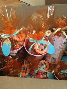 Moana themed party favors