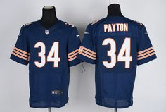 Men's Nike NFL Chicago Bears #34 Walter Payton Blue Jersey.  If interested in them, pleases E-mail bettyjerseycheap@gmail.com
