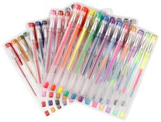 A pretty pack of US Art Supply gel pens in removable organizer trays. $8.96 - 48pk. Amazon