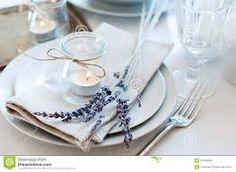 Image result for lavender bridal table settings
