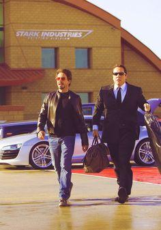 Tony Stark and Happy Hogan, Iron Man