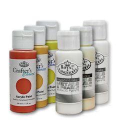 Akrylové farby americkej značky Royal & Langnickel sú ďalšou generáciou akrylových farieb. Po uschnutí zostávajú jasné, intenzívne a trvalé. Sú riediteľné s vodou alebo v zmesi s akrylovými médiami. Majú vynikajúcu kryciu schopnosť a krátky čas schnutia. Vhodné na použitie na papier, plátno, textílie, kov, keramiku, kožu, drevo a ďalšie povrchy. Objem farby : 59 ml.