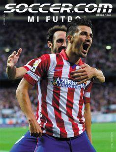 SOCCER.COM September 2013 Mi Futbol Edition starring David Villa.