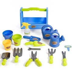 My first Little Gardening Tool Box 16 pc's Toy Gardening Tools Set for Kids IQ Toys http://www.amazon.com/dp/B015LXYXH6/ref=cm_sw_r_pi_dp_aj8Owb0FYC7EF