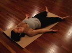 corpse pose....bliss...at the end of a yoga class #corpsepose #yoga #soundbody