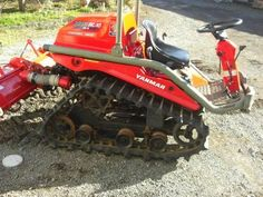 Yard Tractors, Small Tractors, Snow Vehicles, Atv Attachments, Hors Route, Tractor Pulling, Powered Wheelchair, Crawler Tractor, Mini Excavator
