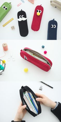 My kids and I are falling in love with this super adorable pencil case!