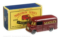 The South West Matchbox Collection   Regular Wheels   Vectis Toy Auctions Matchbox Regular Wheels No.69A Commer