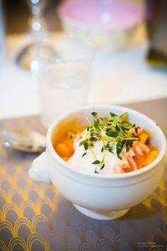 LCHF - Low Carb, Lågkolhydratkost Gräddig fisksoppa med saffran och tomat
