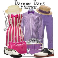 """Dapper Dans"" by lalakay on Polyvore disney"