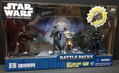 51672 2010 Star Wars The Clone Wars Jedi Showdown Battle Pack C9 | eBay