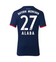 Billiga Bayern Munchen David Alaba 27 Bortatröja 17-18 Kortärmad Munich, David, Sports, Tops, Bavaria, Hs Sports, Sport, Monaco