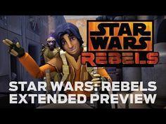 "[VIDEO] Disney Drops 7-Minute Tease of Star Wars' ""Rebel"" Animated Future"