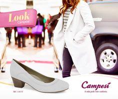 Mulheres que precisam trabalhar de branco, ou as fãs dessa cor clásica, vão amar a Linha Branca da Campesí. #lookCampesí