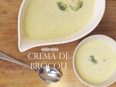 Crema de Brócoli sencilla y deliciosa on http://www.cocinasana.eu