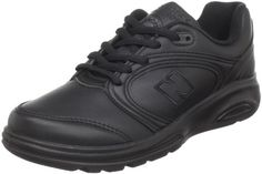 New Balance Women's WW812 Walking Shoe,Black,8.5 D. Size: 8.5 D US. RollBar TPU motion control post. TS2 stability system. Walking Strike Path outsole. Leather upper in an athletic walking sneaker styleLace-up front, padded tongue and collarStitching and side logo detailTextile lining, cushioning insoleRollbar(R) for ultimate motion controlStabilizing Walking Strike Path(R)Traction outsole. Reach your ultimate goal in the New Balance 812 walking sneakers. Dimensions: weight: 81,...